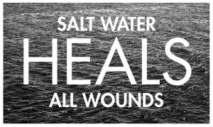 salt water heals